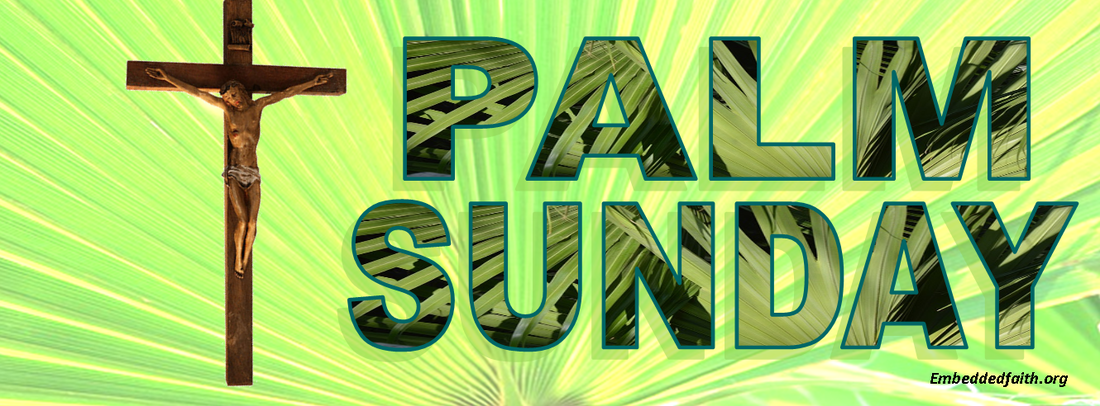 Palm Sunday Facebook Cover - embeddedfaith.org
