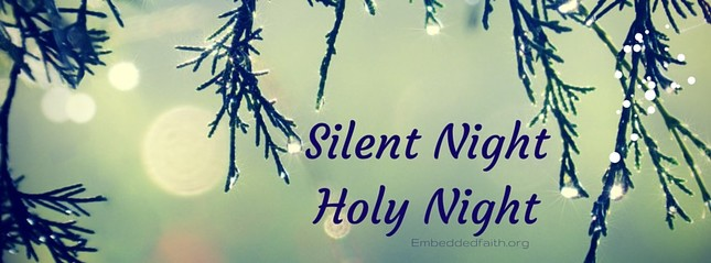 Silent night, holy night facebook cover embeddedfaith.org