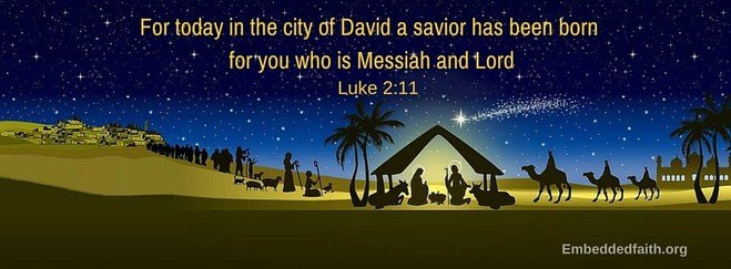luke 2:11 christmas facebook cover embeddedfaith.org