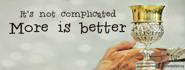 It's not complicated more is better facebook cover on embeddedfaith.org