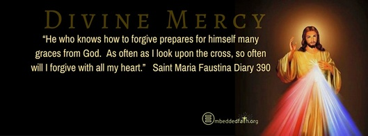 Divine Mercy Sunday Facebook Cover -