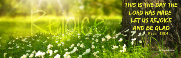 Easter Facebook Cover - this is the day the Lord has ad let us rejoice and be glad - embeddedfaith.org