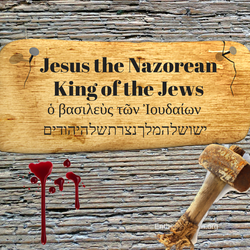 Holy week/Good Friday - Jesus of Nazareth King of the Jews.