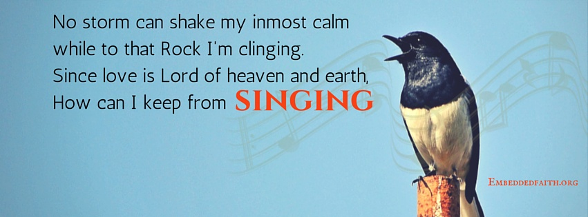 How can I keep from Singing Facebook Cover