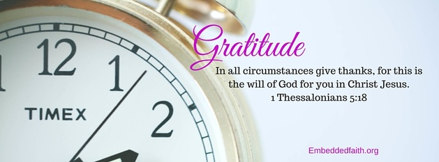 Gratitude Facebook Cover Series - In all circumstances give thanks... embeddedfaith.org