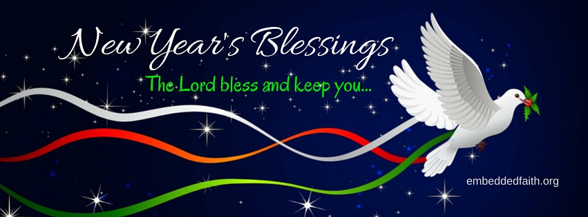 A new year's blessing facebook cover - embeddedfaith.org