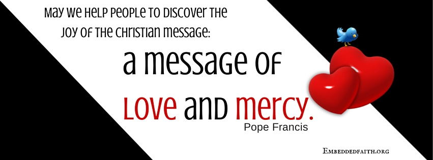 Pope Francis Quote Facebook Cover