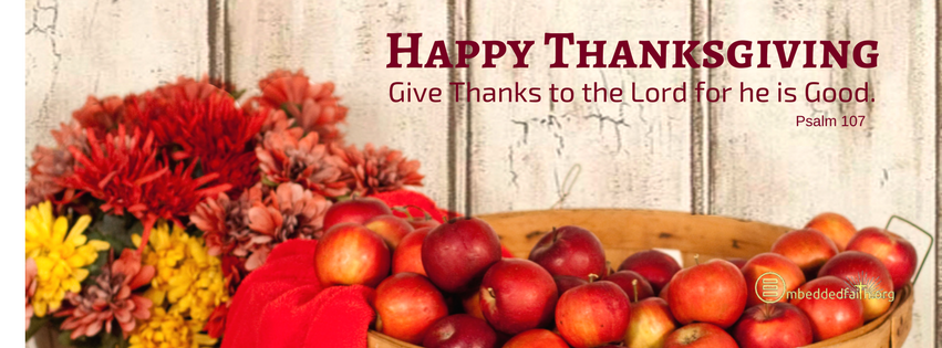 Thanksgiving Facebook Covers