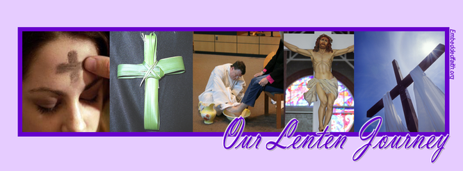 Our Lenten Journey Facebook Cover - embeddedfaith.org