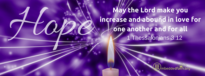 First week of Advent Cycle C - Facebook Cover.  embeddedfaith.org